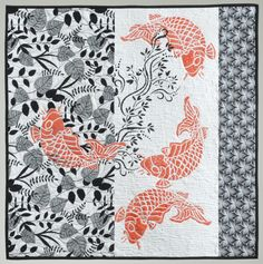 Coy Koi by Judy Valentino.  Milwaukee Art Quilters.