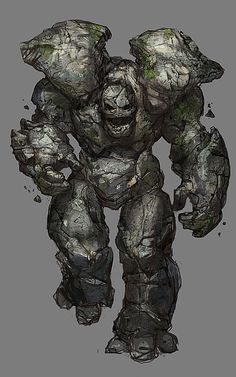 Stone golem. They're pretty cool but some different golems are amazing!