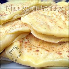 mhadjeb au fromage (recette facile)   Cuisinez avec Djouza