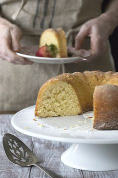 This amazing low carb butter cake will blow your mind. So dense and rich. Sugar-free and grain-free.