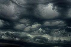 undulatus asperatus clouds near Pasco, WA