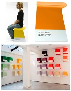 Pantone stools, @Ashley Rippke