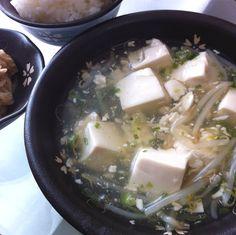 2013.3.22 塩麻婆豆腐と切り干し大根