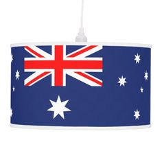 Australia flag hanging lamp
