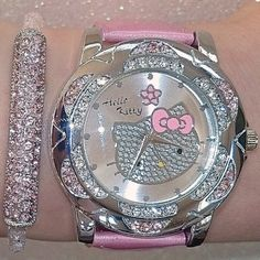 Perfect watch to match another Hello Kitty bracelet i have! #HelloKitty #Watches #HelloKittyJewelry