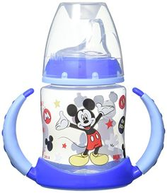 Nuk Disney Learner Cup With Silicone Spout Mickey Mouse New Ships Free Nuk Sippy Cup, Baby Dolls For Kids, Teaching Babies, Baby Registry Items, Baby List, Wishes For Baby, Baby Disney, Disney Boys, Products