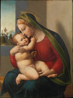 Madonna and Child // ca. 1520 // Francesco Granacci (Francesco di Andrea di Marco) // © The Metropolitan Museum of Art
