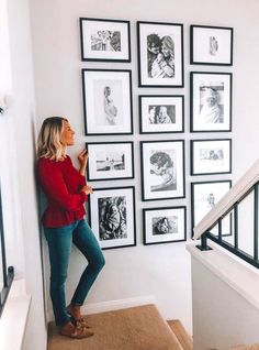 Photo Gallery Wall Decor decor bedroom master How To Decorate Your Blank Walls: 17 Inspirational Chic Ideas