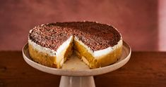 Sütés nélküli almatorta recept | Street Kitchen Top 5, Penne, Tiramisu, Ethnic Recipes, Food, Essen, Meals, Tiramisu Cake, Yemek