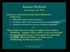 Video - Autism, the Brain, Thinking and Behavior Dr. Mary Jo Lang