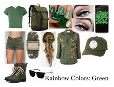 Rainbow Colors: Green by moonstar843