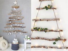 árbol de navidad original ecologico Christmas 2019, Christmas Ideas, Ladder Decor, Flowers, Diy, Zero Waste, Home Decor, Shop, Magical Christmas