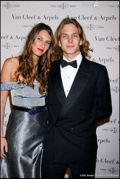 Andrea Casiraghi et Tatiana Santo Domingo.