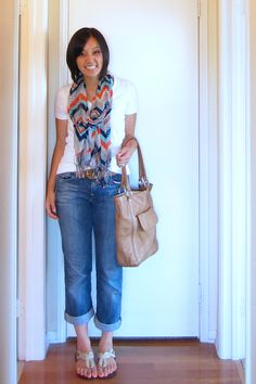 r blazer, or simply adding a colorful necklace or patterned scarf, you can maximize that plain white tee to no end.
