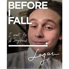 Before I fall Saga, Logan Miller, Jennifer Beals, Zoey Deutch, I Fall, Bb, Films, Movies, Film