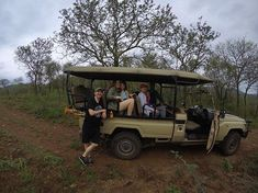 Weve been disconnected for a couple days enjoying the quiet and seclusion of @somkhandagamereserve ! Wish you were here! . Us on safari with @outdoorafrica  www.outdoor-africa.com . #outdoorafrica #somkhanda #familysafari #safarisouthafrica #travelmore #seesouthafrica #goonsafari #dontwait