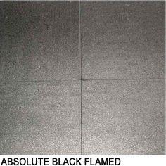 Absolute Black Flamed Granite
