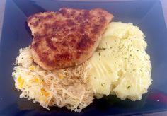 Kotlet na obiadek Polish Recipes, Polish Food, Mashed Potatoes, Grains, Pork, Turkey, Rice, Chicken, Ethnic Recipes