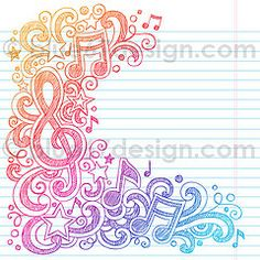 Music Notes Sketchy Doodle Vector Illustration by blue67design | Flickr - Photo Sharing!