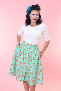 Getaway Skirt - Foxy
