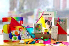 Rainbow Coloured Complete Party Decorations Pack 100+ Items Celebration Kit