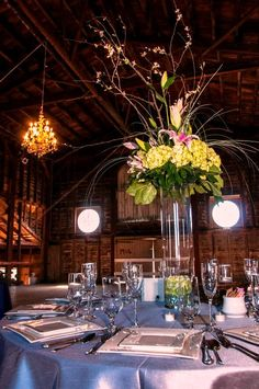 Wedding in a Barn - Hudson Valley NY High Falls, New Paltz, Catskill Mountains, Upstate New York, Hudson Valley, Barn, Table Decorations, Wedding, Home Decor