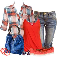 """""""Summer Camp Casual"""" by thanna2029 on Polyvore"""