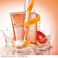 Čištění pleti #Pure #Skin s grapefruitem #Oriflame  Nové přípravky pro čištění pleti snadno a rychle odstraní nečistoty, osvěží pleť náchylnou k tvorbě akné, zanechají ji čistou a plnou energie.  ČISTICÍ PLEŤOVÝ GEL S GRAPEFRUITEM PURE SKIN, PLEŤOVÁ VODA S GRAPEFRUITEM PURE SKIN.  www.orif24.cz