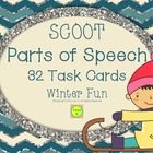 Winter+Fun+Scoot+-+Parts+of+Speech+Task+Cards+(noun,+verb,+adjective,+adverb)  This+resource+includes+1+set+of+32+task+cards.+ Each+card+has+a+sent...