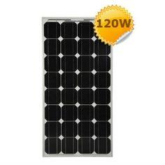 Panneau solaire Monocristallin  haut rendement 12V 120W