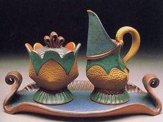 Sandi Pierantozzi (Says pinner Kit, a great potter, she lives in my neighborhood of Philadelphia!)