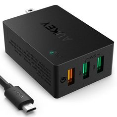 [Amazon Canada]Aukey 3-Port-Charger with QC3.0 Lightning deal http://www.lavahotdeals.com/ca/cheap/amazon-canadaaukey-3-port-charger-qc3-0-lightning/115490