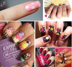 This looks cool! Get Nails, Fancy Nails, Love Nails, How To Do Nails, Pretty Nails, Hair And Nails, Crazy Nails, Butterfly Nail, Butterfly Wings