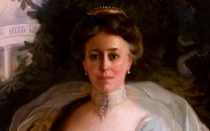 """Helen Louise Herron """"Nellie"""" Taft was the wife of William Howard Taft and First Lady of the United States from 1909 to William Howard Taft, Edwardian Gowns, Behind Every Great Man, Presidents Wives, University Of Cincinnati, Great Women, Family History, Style Icons, America"""
