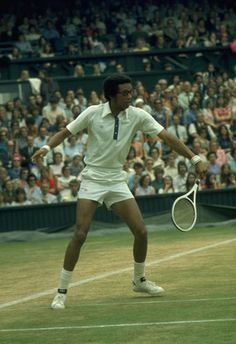 1) The final that had everything, 1975 Arthur Ashe on his way to a historic victory over Jimmy Connors on Centre Court