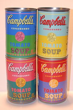 andy warhol soup cans - Google Search