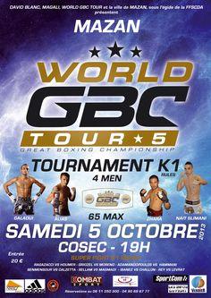 #WorldGBCTour 5 Tournament -65kg #K-1 4 men #NaitSlimani #MohamedGalaoui #AlessandroAlias  #DanielZahra Mazan Vaucluse France Europe