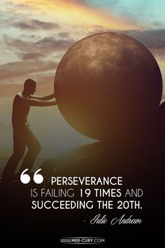 perseverance ~ steady persistence in a course of action, a purpose, a state…