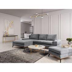 Béžový puf se sametovým potahem Windsor & Co Sofas Astre Beige, Grey, Dining Bench, Sofas, Windsor, Couch, Teak, Bali, Inspiration