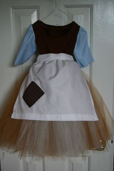 cinderella rags outfit.  B may go crazy over this.