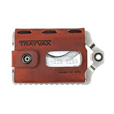 Trayvax Element Wallet (Canyon Red) Trayvax