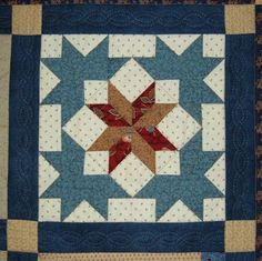 Underground Railroad Quilts | One of the blocks that I sewed: