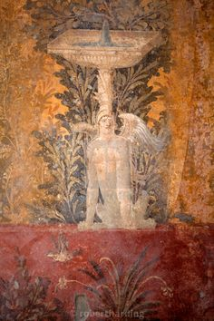 """Fresco of the Villa Poppea (Villa Poppaea), Oplontis, UNESCO World Heritage."" by robertharding - Print Advertising, Archaeological Site, Us Images, Colour Images, World Heritage Sites, Archaeology, Wall Art Prints, Travel Photography, Villa"