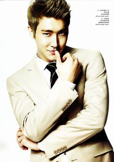 Siwon - Elle Man Magazine Spring/Summer 2013