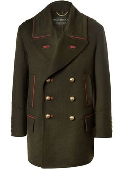Burberry Oversized Double-Breasted Cashmere and Wool-Blend Coat - ShopStyle Best Winter Coats, Mens Winter Coat, Military Inspired Fashion, Burberry Men, Burberry Coat, Double Breasted Coat, Wool Coat, Mens Fashion, Fashion Killa