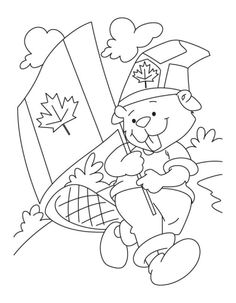 Read moreA Fluffy National Beaver Boyscout On Canada Day Coloring Pages Creation Coloring Pages, Flag Coloring Pages, Online Coloring Pages, Free Coloring, Coloring Sheets, Canada For Kids, Canada 150, Canada Day Party, Canada Day Events