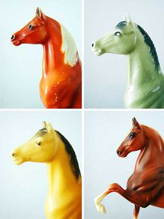 "Vintage breyer horses. Look for the Breyer ""Hickstead"" at the Spruce Meadows Tack Shop!"