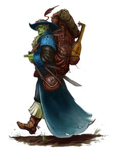 LadyRhian's too many pictures for any thread.... - Page 22 - Baldur's Gate Forums half-orc, lute,