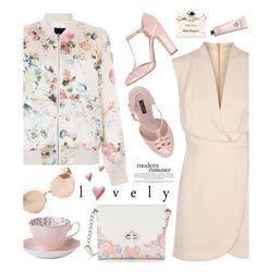 """Wardrobe Basics: Spring Jacket"" by deeyanago ❤ liked on Polyvore featuring Finders Keepers, Dolce&Gabbana, Royal Albert, Candie's, Linda Farrow, Bobbi Brown Cosmetics, Salvatore Ferragamo and wardrobebasics"