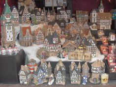 I went to many Christmas Markets in Germany, but this one was in Bochum. These are German Christmas village houses.